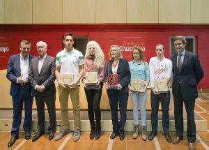La Fundación Andalucía Olímpica y la Fundación Cruzcampo entregaron los Estímulos al Deporte 2014
