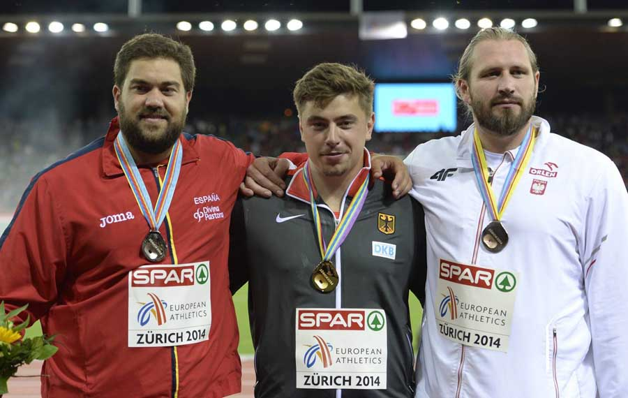 Medalla de oro, el español Borja Vivas