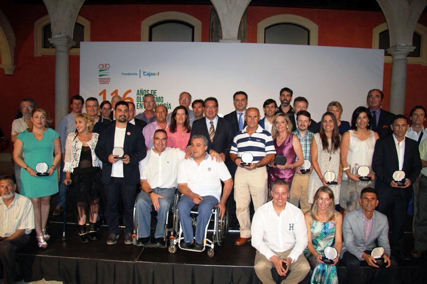El Olimpismo andaluz celebra los 116 años