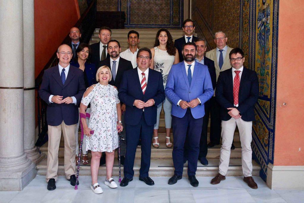 Patronato de Andalucía Olímpica en la Fundación Cajasol