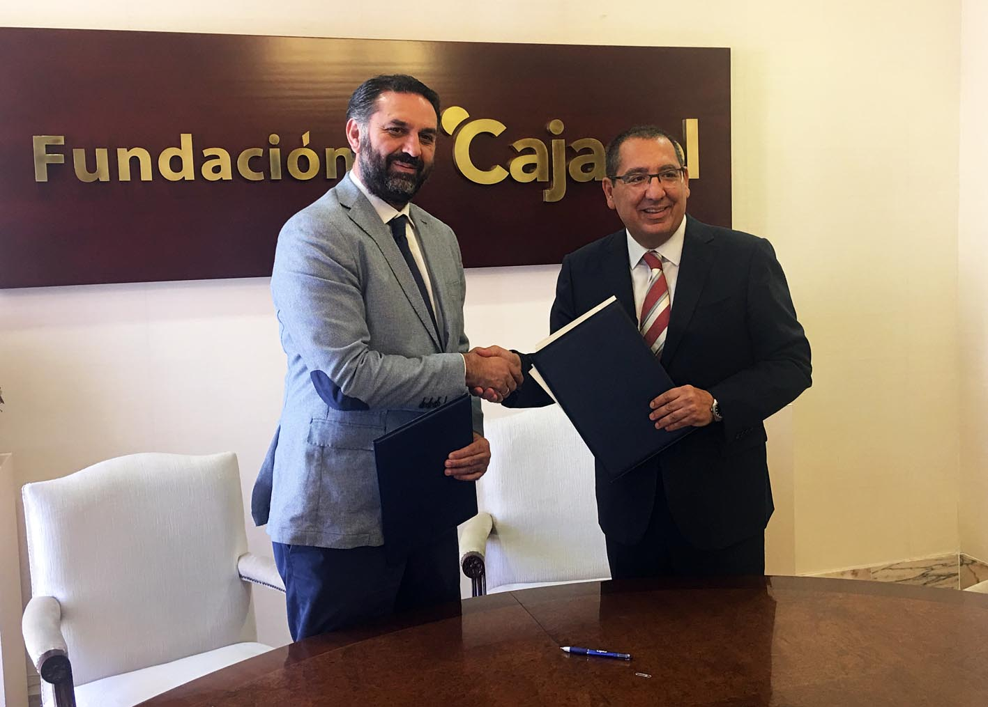 Las fundaciones Cajasol y Andalucía Olímpica colaborarán en la difusión de los valores olímpicos