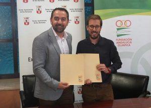 Dos Hermanas consolida su vinculación con la Fundación Andalucía Olímpica hasta 2020