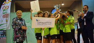 El CEIP Manuel Siurot se corona tricampeón de la Olimpiada Escolar