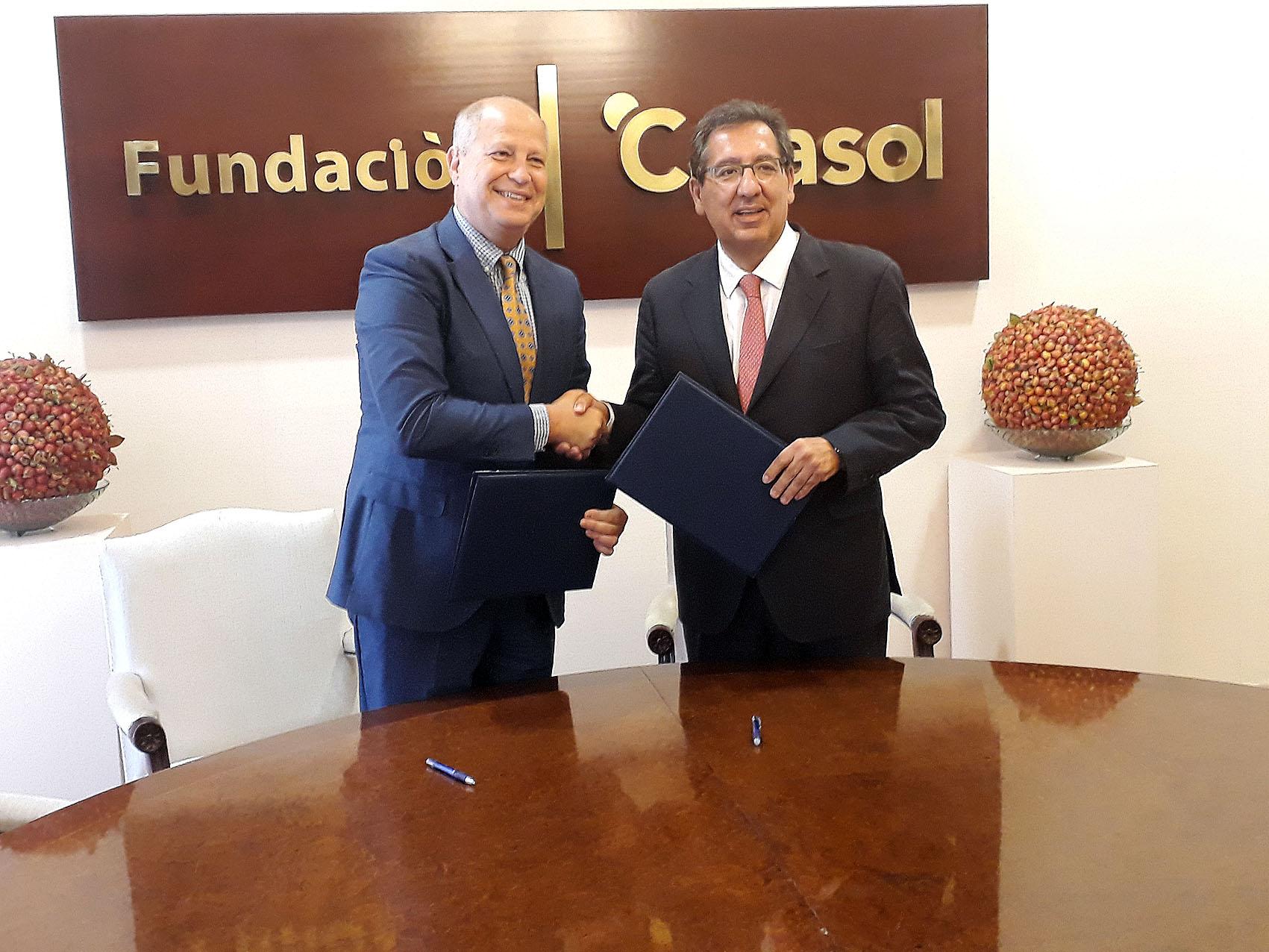 Andalucía Olímpica renueva su colaboración con la Fundación Cajasol