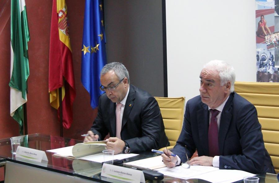 Constitución del nuevo Patronato de la Fundación Andalucía Olímpica