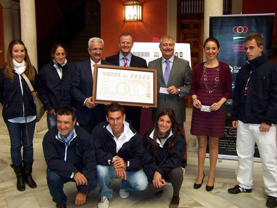La ONCE lleva el Movimiento Olímpico Andaluz
