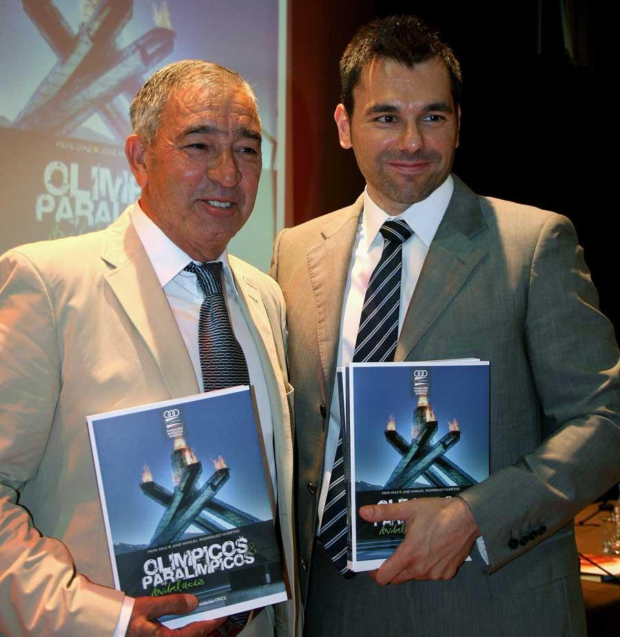 Presentación del libro Olímpicos y Paralímpicos Andaluces