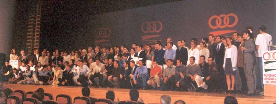 Acto del Plan Andalucía Olímpica 1999