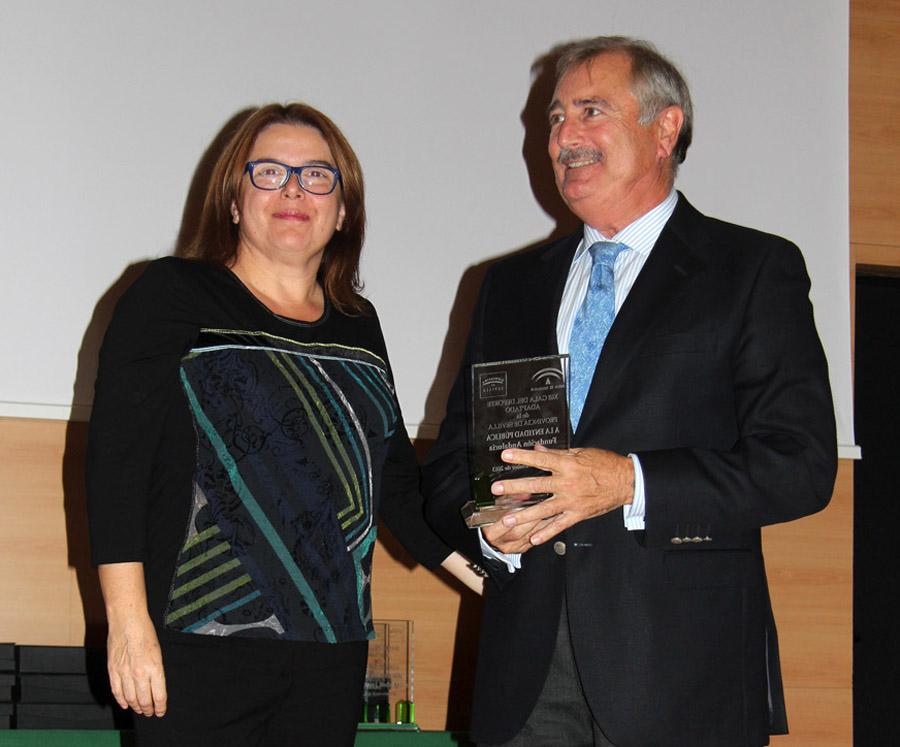 Premio a la mejor entidad pública de 2013 en el ámbito del deporte adaptado
