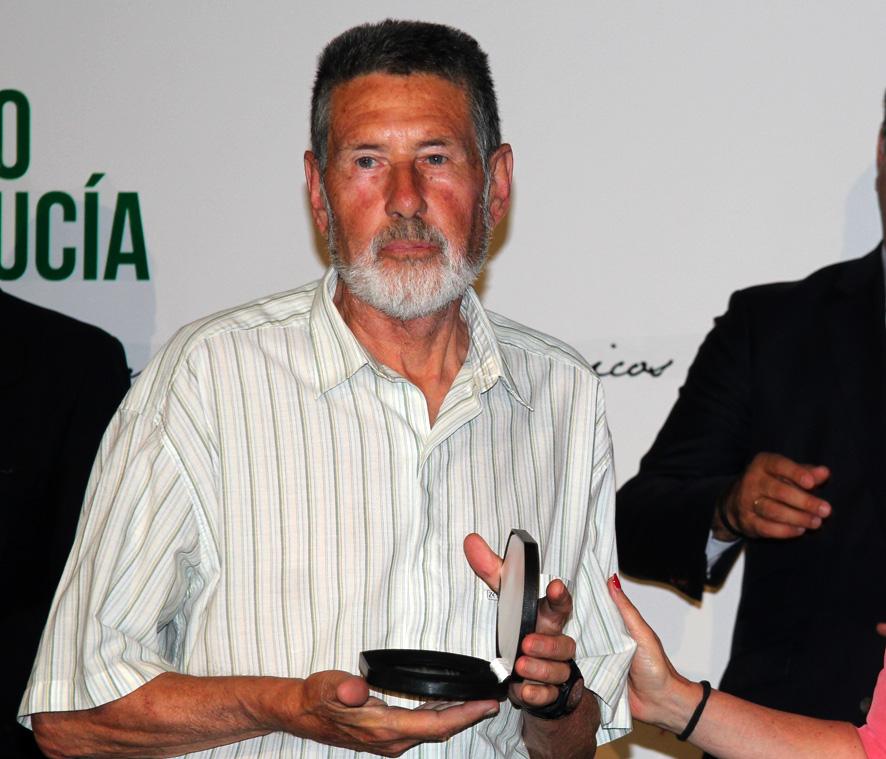 Paco Peralta, primer arquero olímpico andaluz