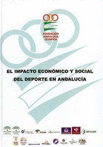 Portada de la publicación: El impacto económico y social del deporte en Andalucía