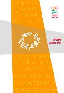 Portada de la publicación: Informe Atenas 2004