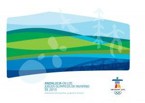Portada de la publicación: Andalucía en los Juegos Olímpicos de Invierno Vancouver 2010