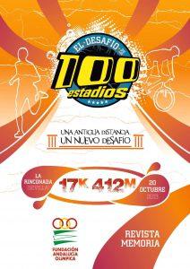 Portada de la publicación: Revista memoria el desafío de los 100 estadios 2013