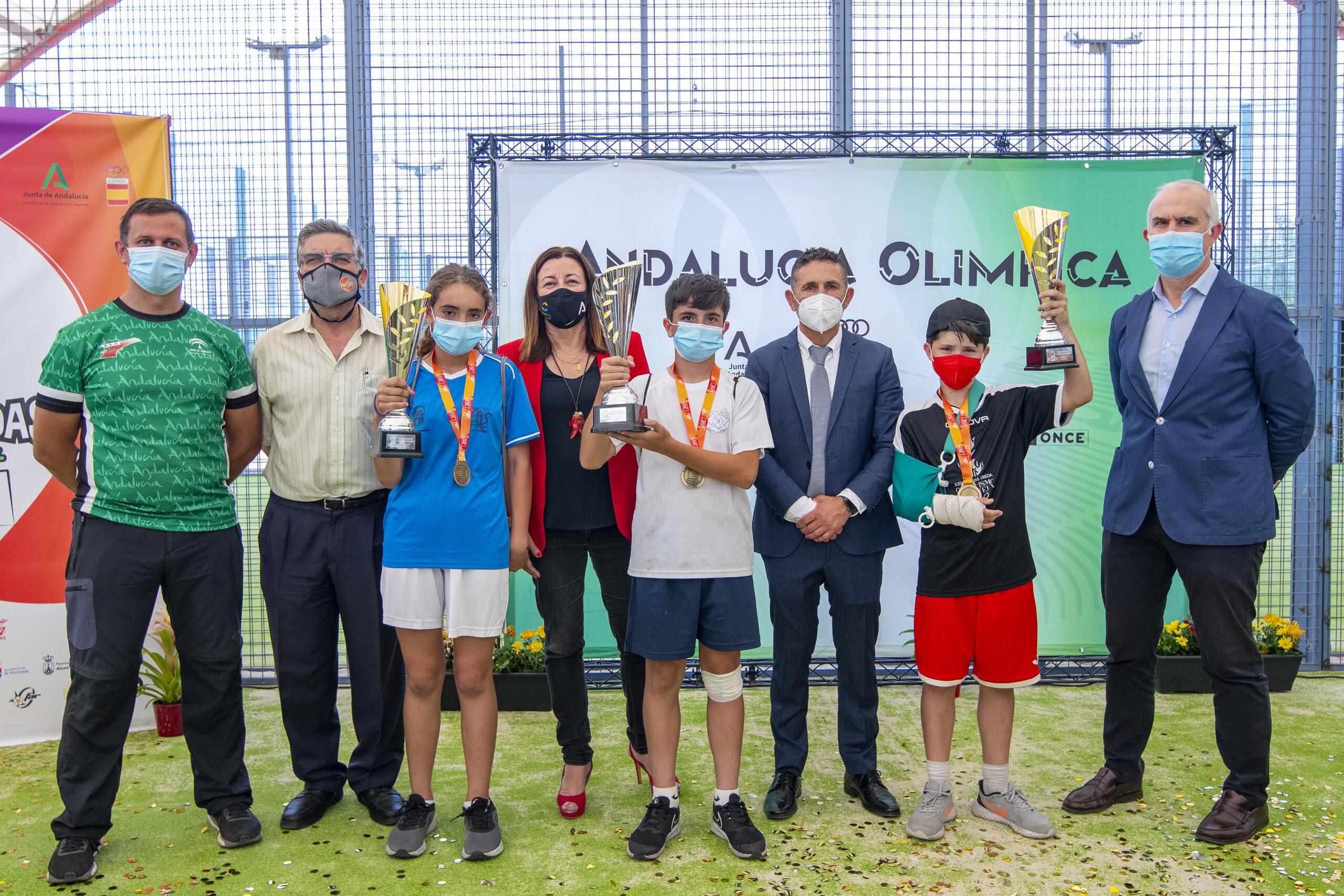 Ganadores de la IV Miniolimpiada 2021.