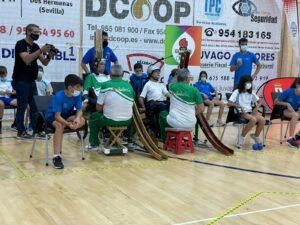 Boccia. Miniolimpiadas 2021