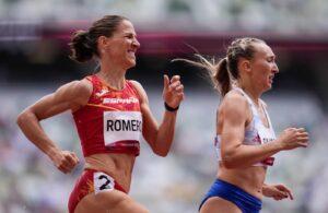 2020 Juegos 800 metros Natalia Romero