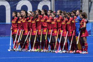 2021 JJOO Hockey España Nueva Zelanda