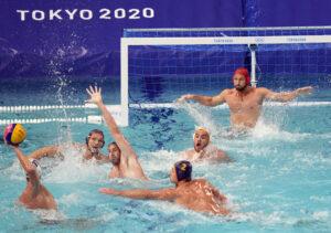 2021 JJOO Waterpolo España Montenegro