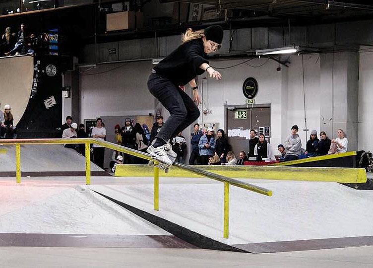 Andrea Benítez, skateboard, olímpica