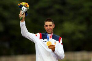 David Valero Ciclsmo medalla COE