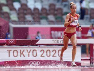 2021 Juegos Atletismo 3000 obstaculos Carolina Robles 2