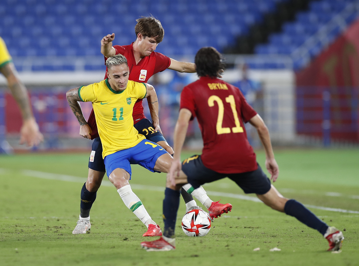 2021 Juegos Futbol Final Espana Brasil