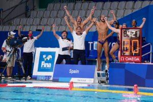 2021 Juegos Waterpolo masculino Espana EEUU